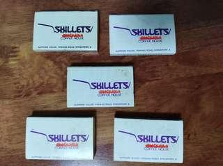 Skillets match boxes