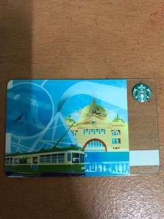 Australia Starbucks Card