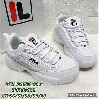 fila disruptor for women brand new