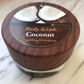 Herb Basics Body Scrub 身體磨砂 - Coconut 椰子味