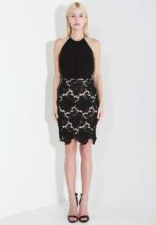 🚚 The Scarlet Room Lace Pencil Skirt