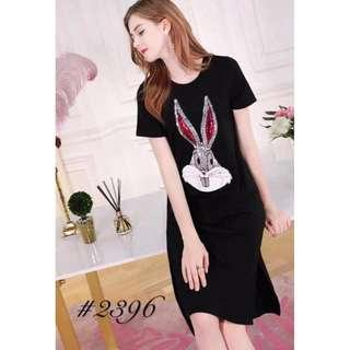 US Inspired Bunny Sequence Dress - COD