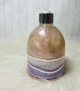 Bath and Body Works Hand Soap Amethyst Lily