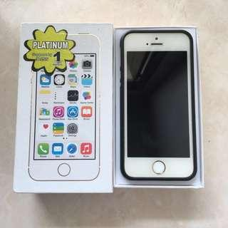 Jual murah iphone 5s gold 64gb