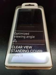Samsung s8 透視感應皮套 clear view standing cover (EF-ZG950)