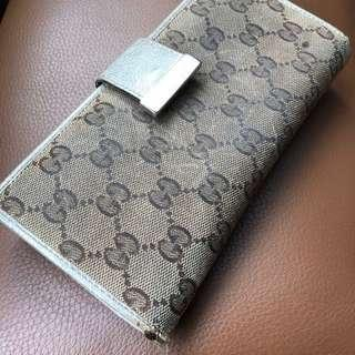 Authentic Gucci Long Wallet / Purse