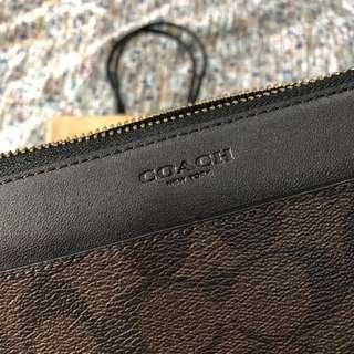 Dompet Coach Long Wallet Brown Like New!
