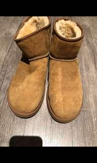 UGG mini chestnut 8W
