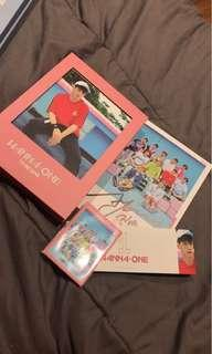 WANNAONE SIGNED TBO PINK VERSION