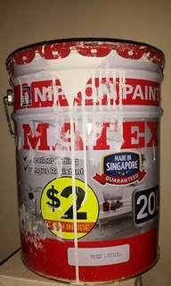 Nippon Matex White Paint