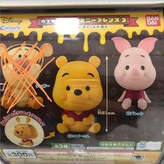 Winnie the Pooh piglet 維尼豬仔大頭扭蛋