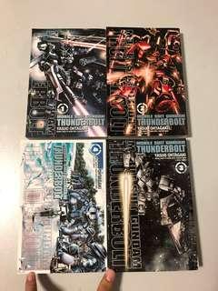 Gundam Thunderbolt English manga set of 4