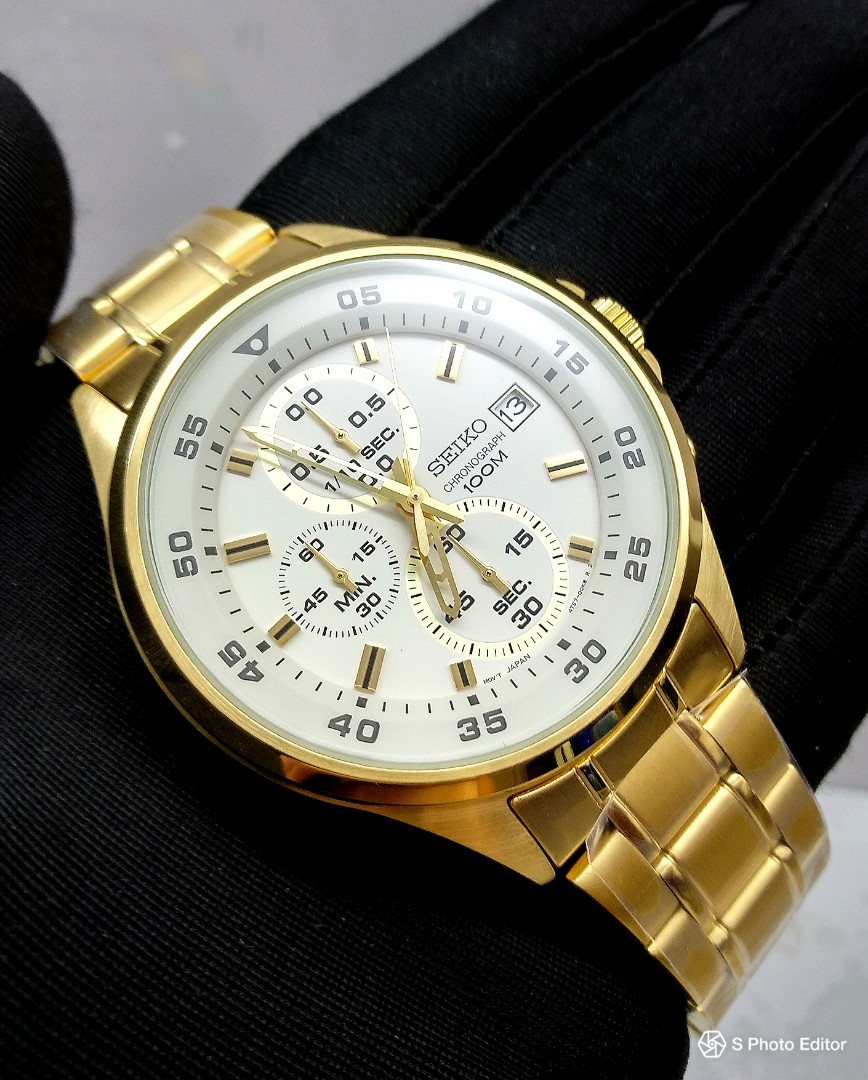 check out d0744 00687 FREE DELIVERY * Brand New 100% Authentic Seiko Quartz PVD ...