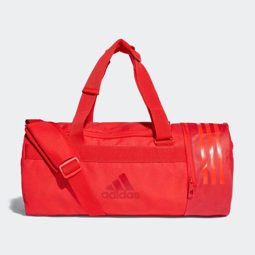 07300ef501 Adidas CONVERTIBLE 3-STRIPES DUFFEL BAG SMALL