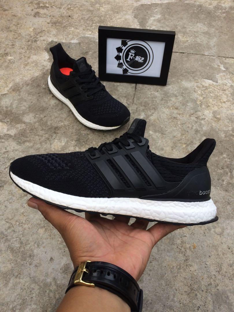 Adidas Ultra Boost 1.0 Black Wool S77511