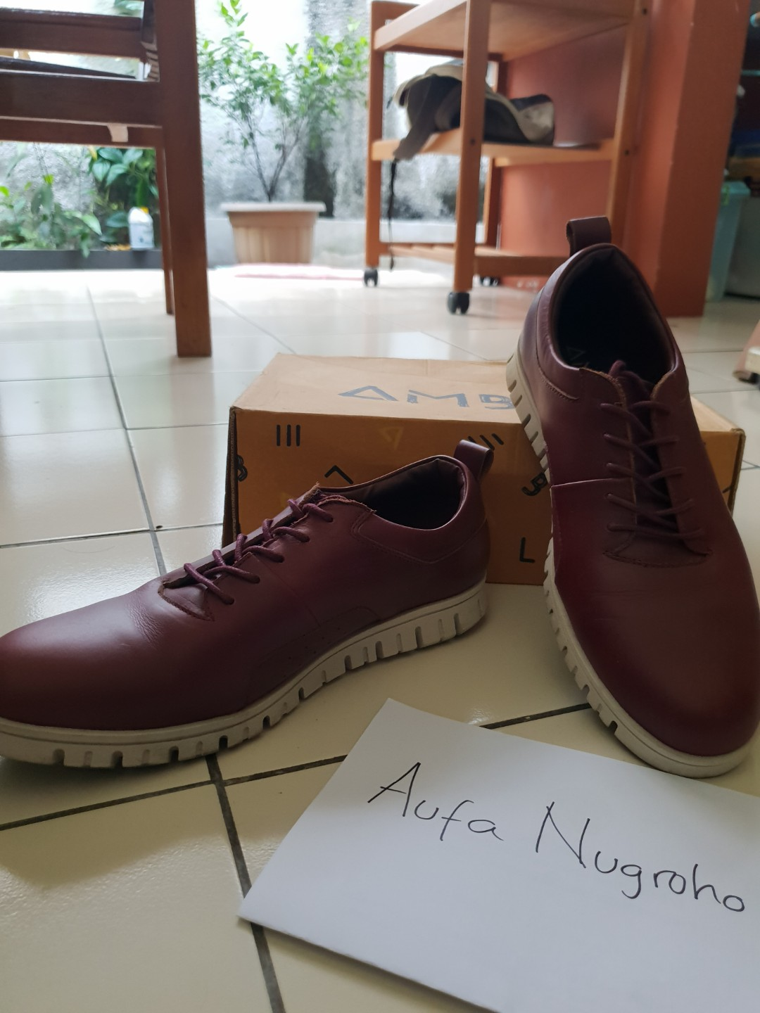 Amble Billy Low Red Cherry size 43 (Nego) 59206d477c
