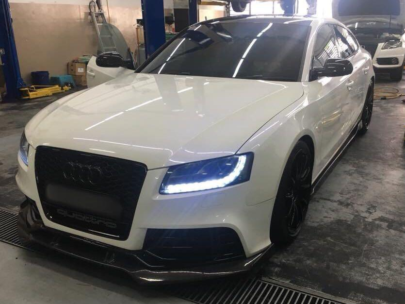 Audi A5 B8 RS5 Front Bodykit Grill Upgrade, Car Accessories