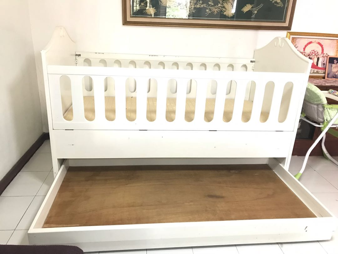 Baby crib box bayi 120x200 babies kids cots cribs on carousell