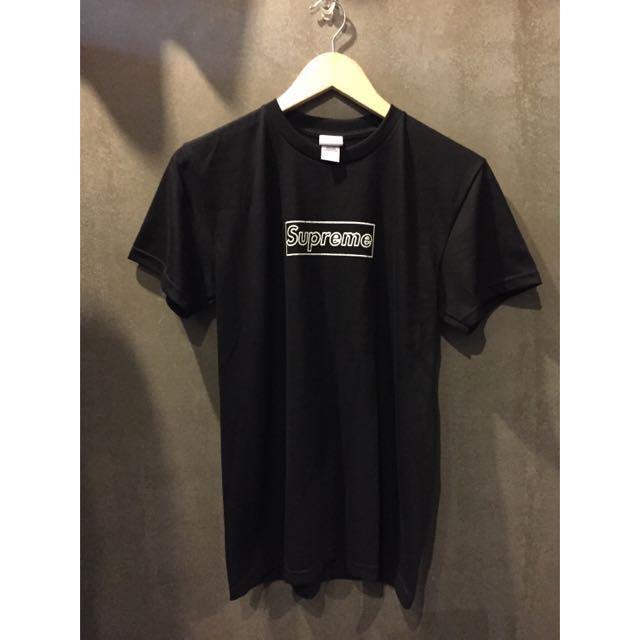 13f7c26594ba Brand New Supreme X Kaws Box Logo Tee T-Shirt, Men's Fashion, Clothes on  Carousell