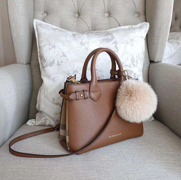 be29766056ba Burberry Small Banner in Leather and House Check