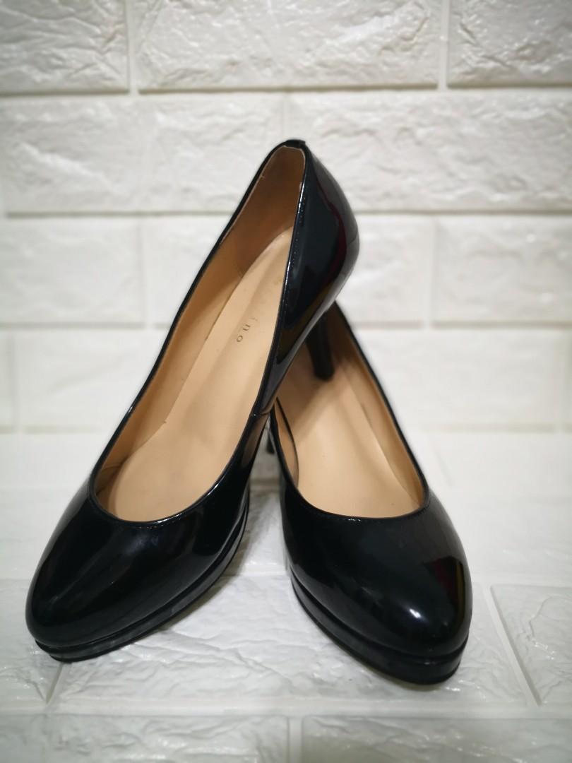 Carino 日本漆皮高踭鞋