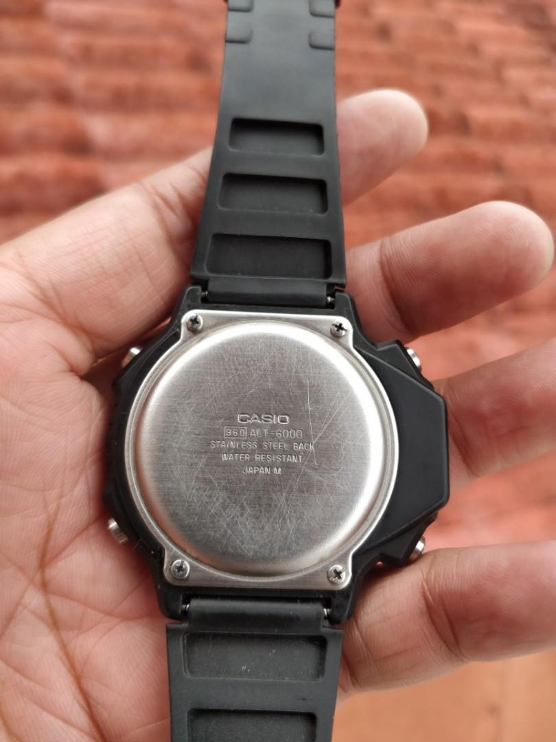 Casio Alti-Thermo Vintage ALT -6000