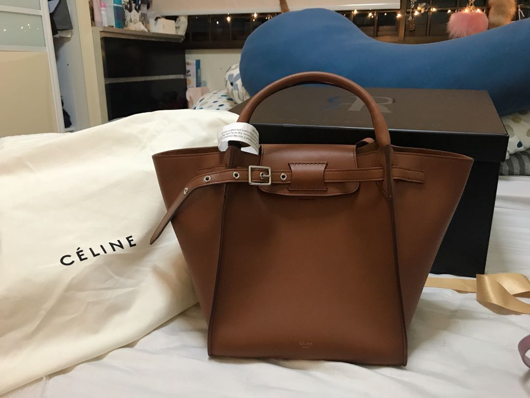 Celine Small Big Bag in Tan  Smooth calf leather f2809cced43f7