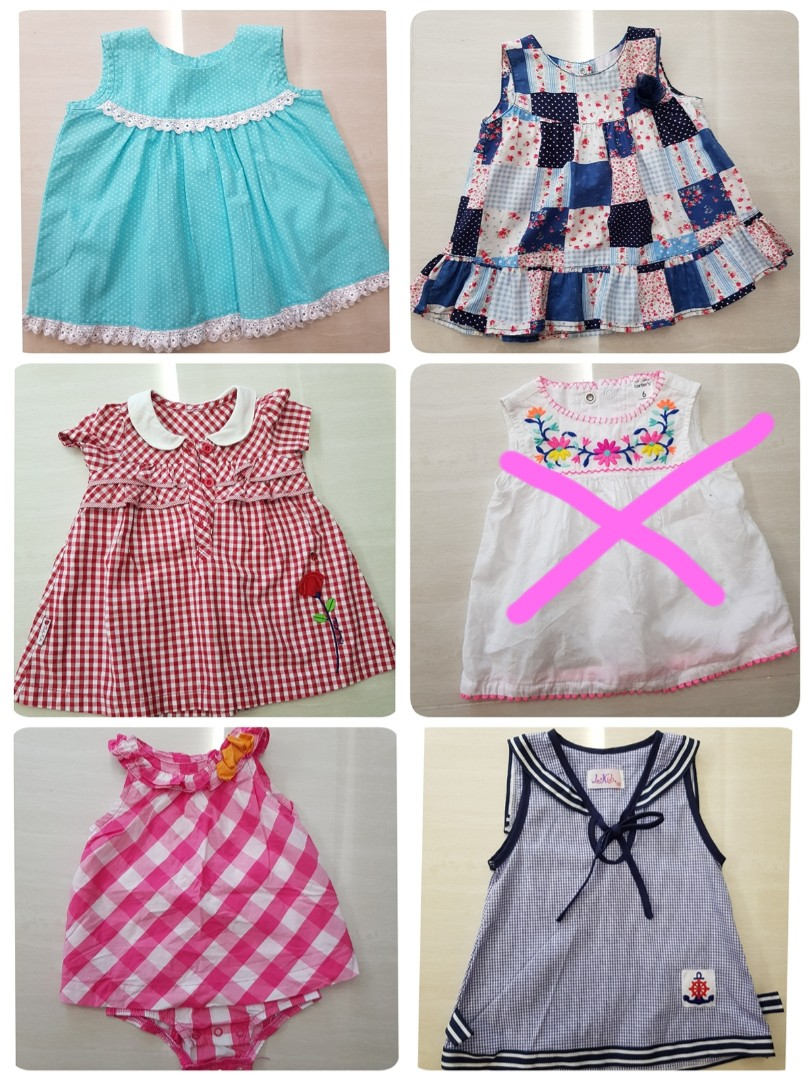 d7626f1a87a9 Free item with purchase! Preloved baby girl dresses for up to 6 ...