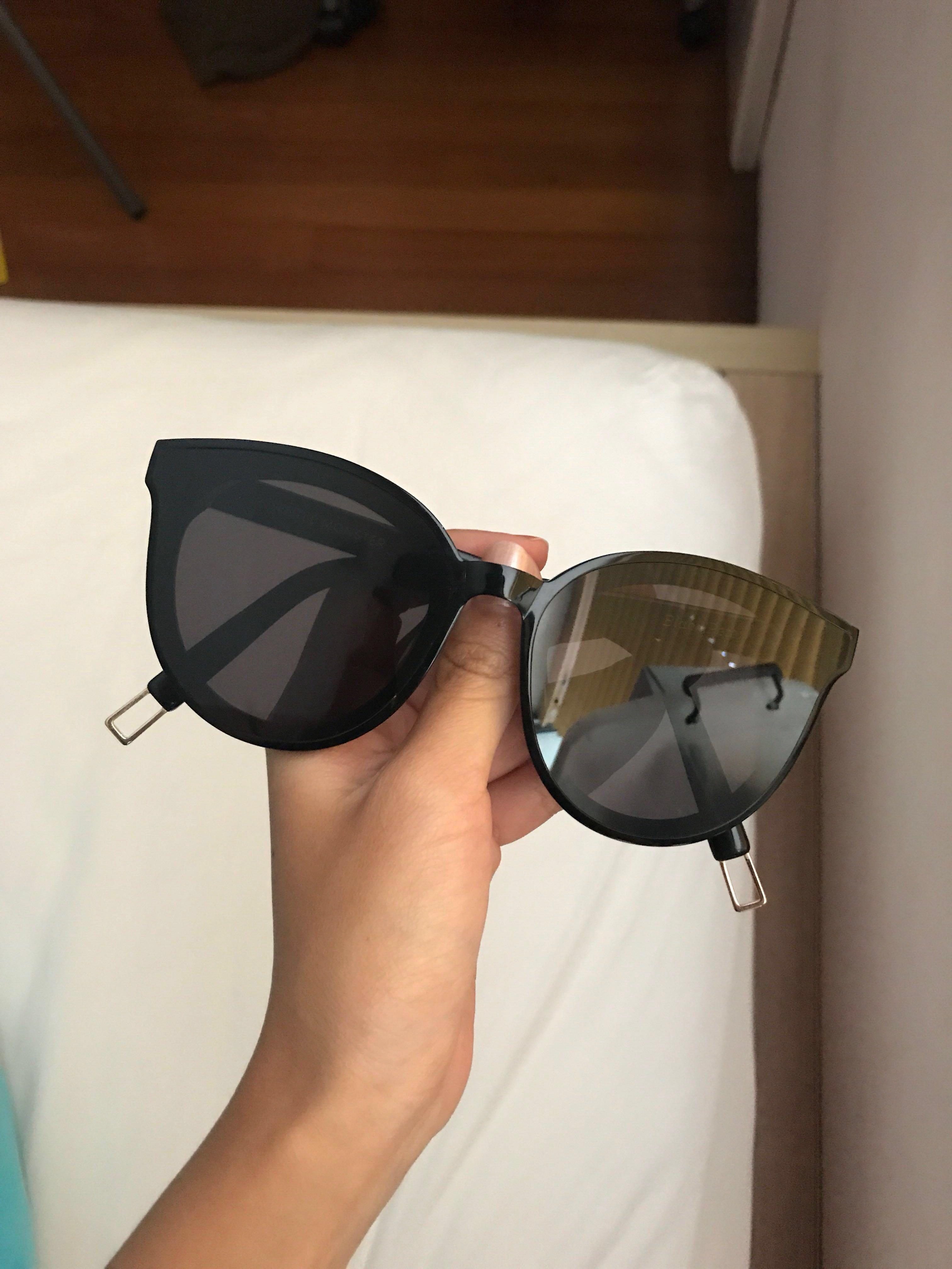 722bef86f787 gentle monster black peter sunglasses (authentic)