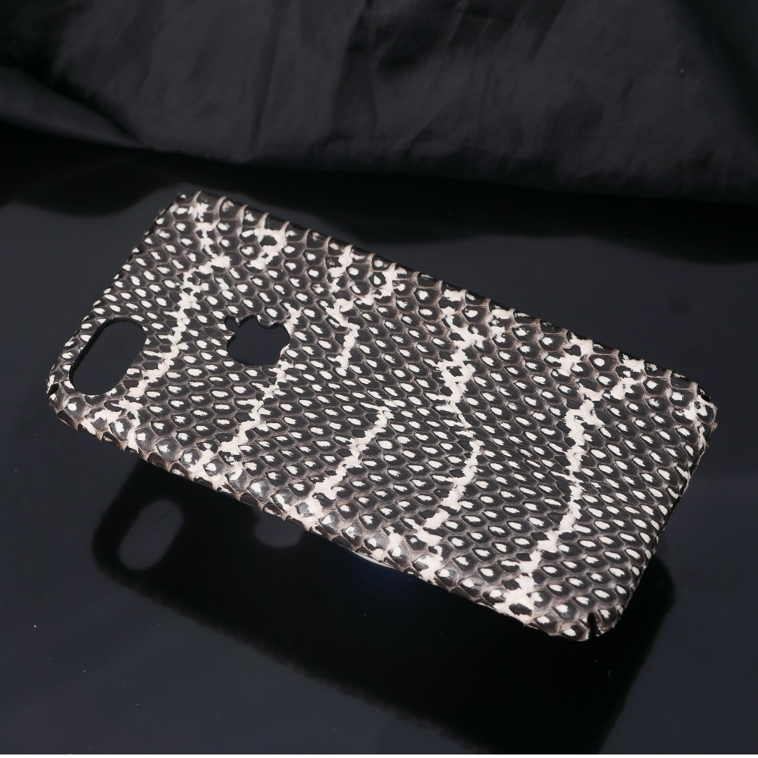 Genuine Snake Python Belly Cover Case For Iphone 6