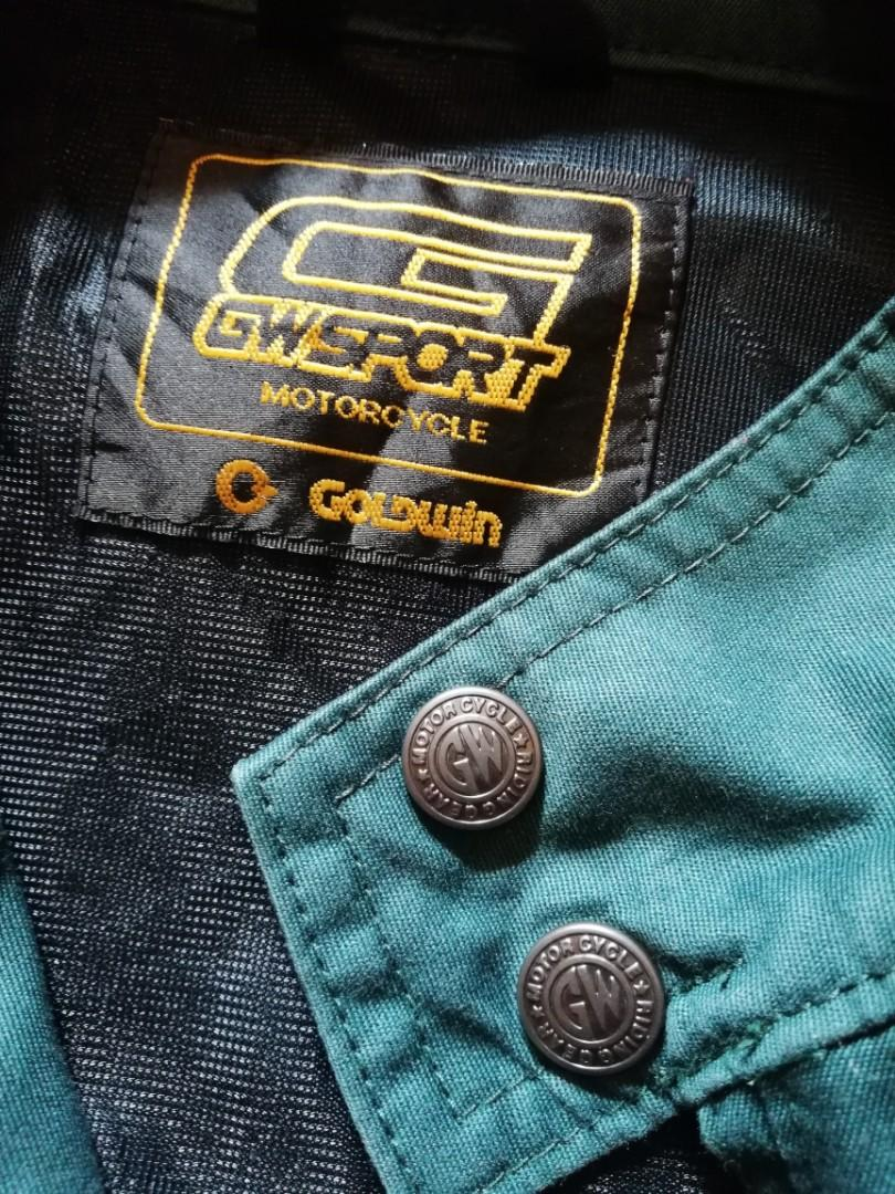 Goldwin jaket motorcycle wear