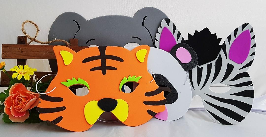 Goodie bag, goody bag, birthday packs, children's day, animal masks, Halloween goodie bag, Christmas goodie bag, children's day gift