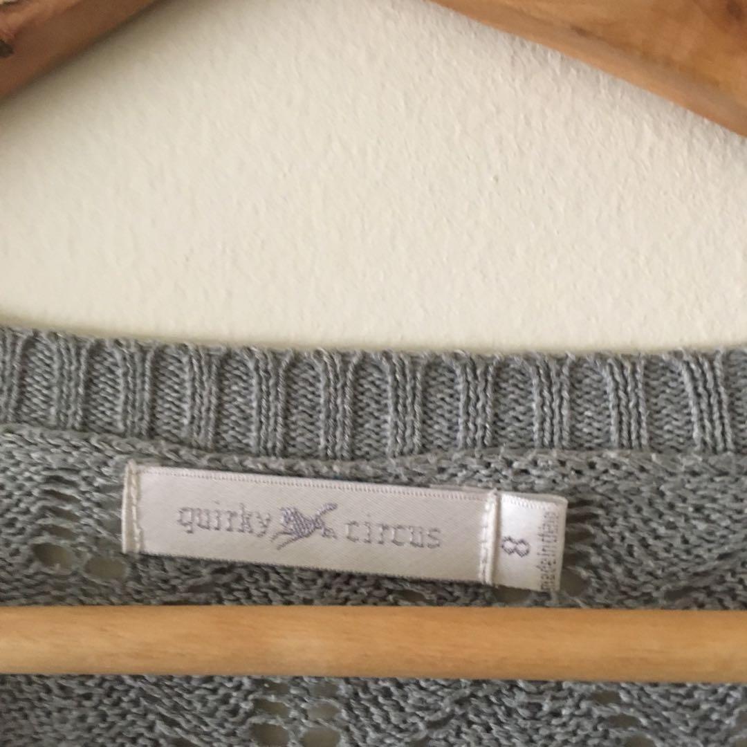 Grey jumper