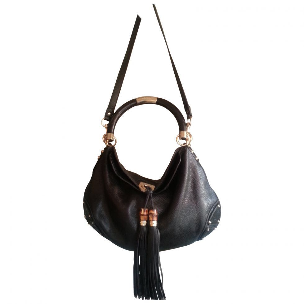 bd775b37be1 Gucci Indy Bamboo hobo bag