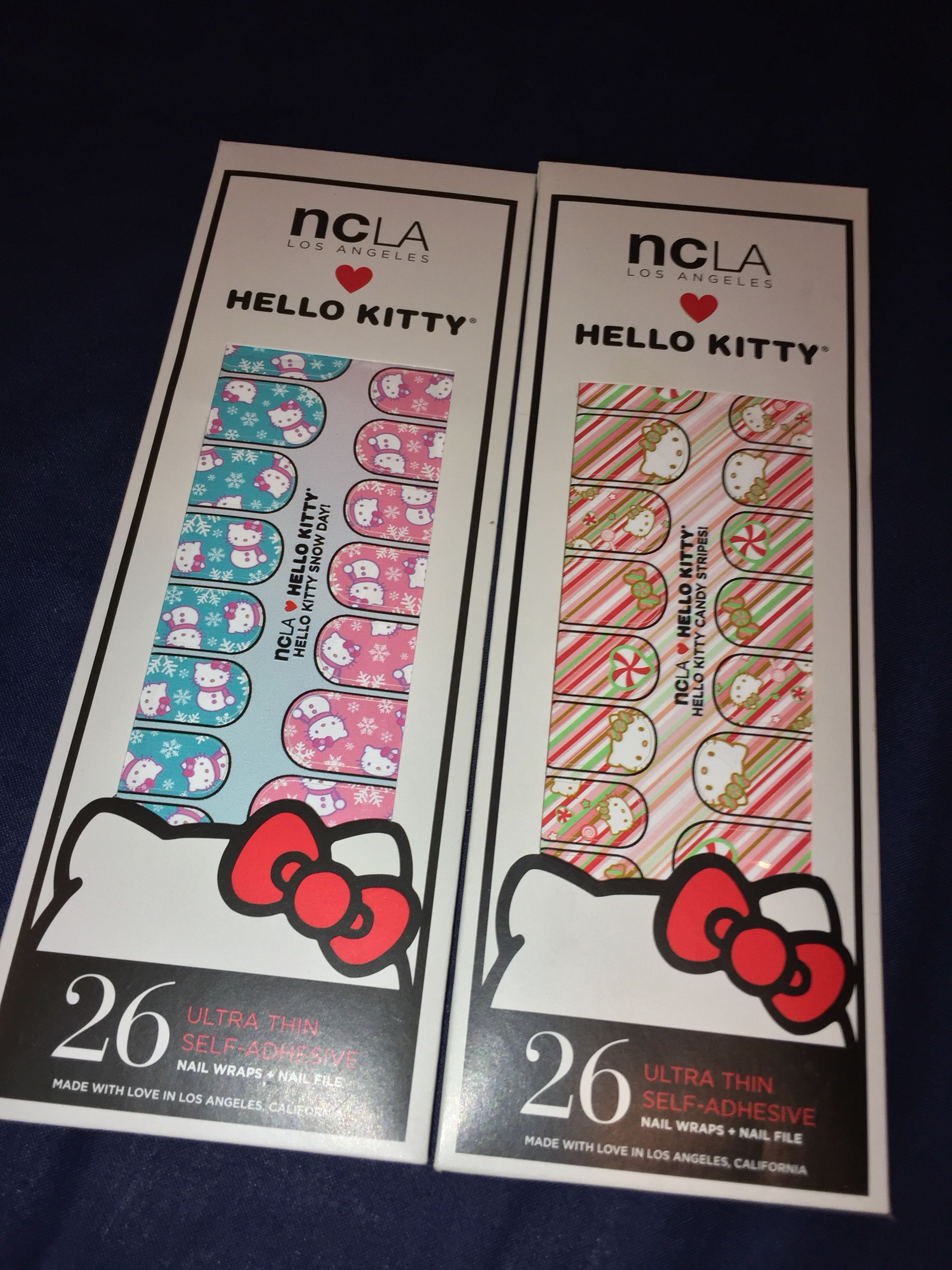 9893e3dfa Hello Kitty Nails Wrap, Health & Beauty, Makeup on Carousell