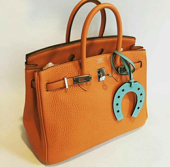 00db49042b6 Hermes Birkin 25 Orange, Luxury, Bags   Wallets, Handbags on Carousell