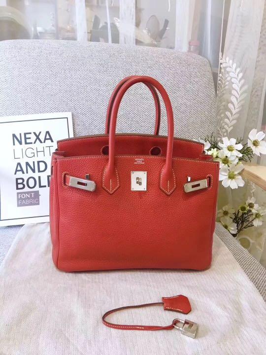 7e9b2ff16f Hermes Birkin 30, Luxury, Bags & Wallets, Handbags on Carousell