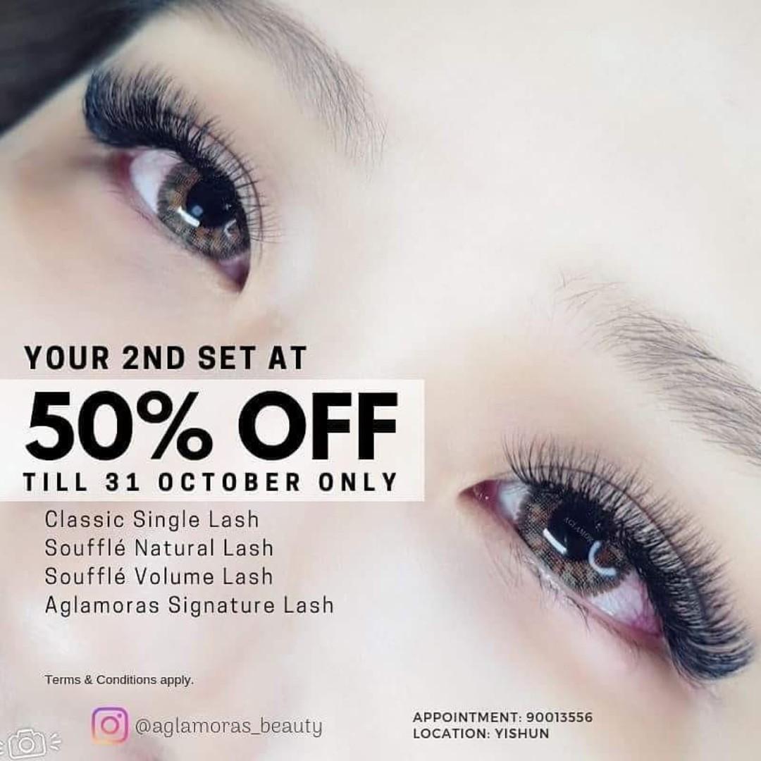 bf34dac3562 Home based eyelash extension YISHUN, Health & Beauty, Makeup on Carousell