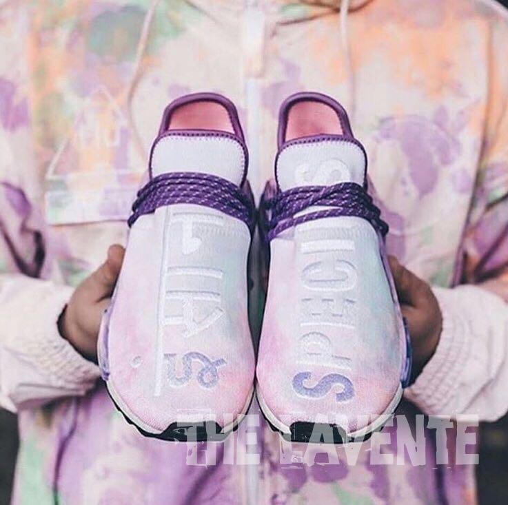 418e950d5 In Stock) US10 Adidas Human Race NMD Pharrell Holi Festival (Pink ...