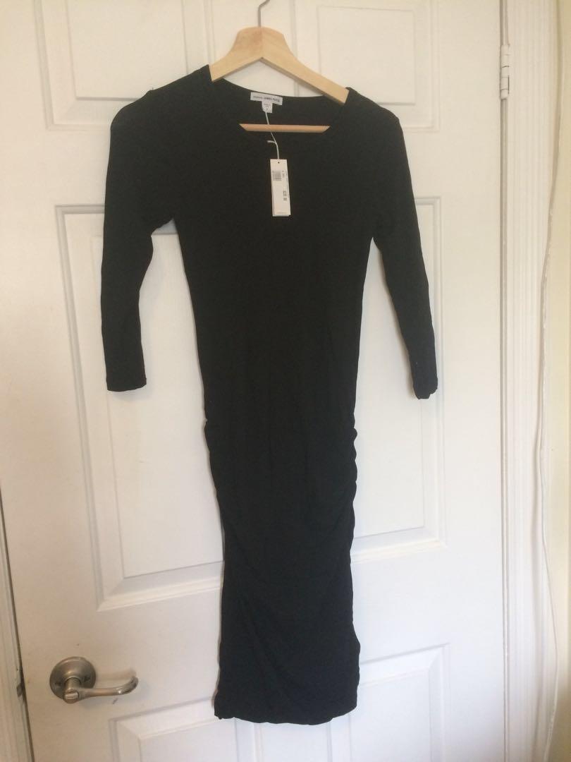 James Perse little black dress sz 2