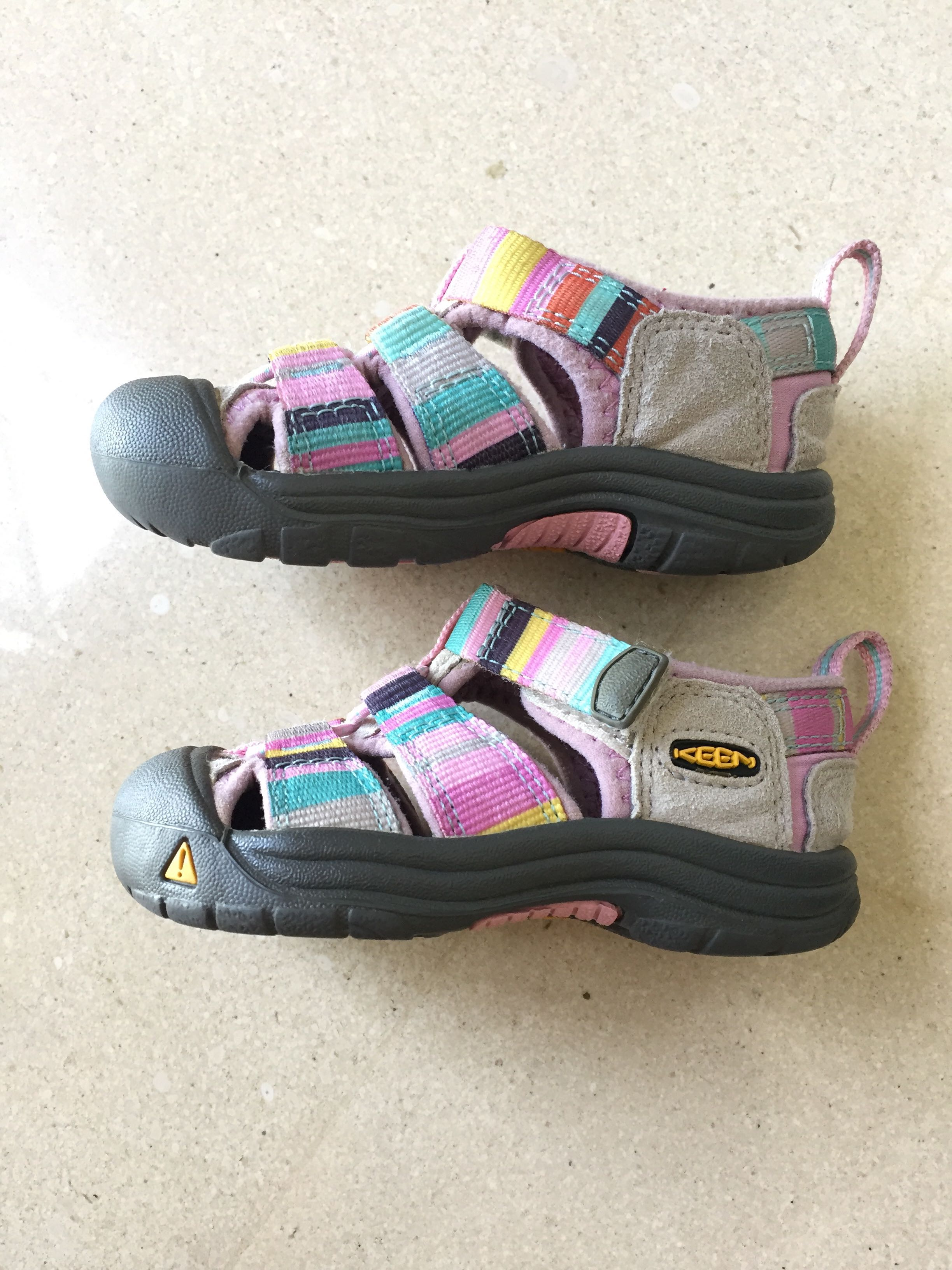 6447c6220a0e Keen US5 (1-2yo) baby girl shoes authentic