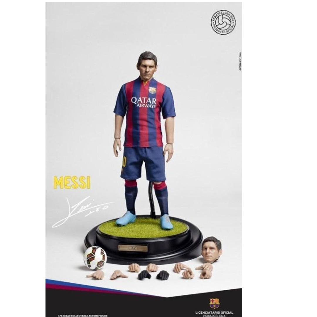 1//6 Messi  Action Figure  FCB 16-17 Football Season Souvenir Doll collection