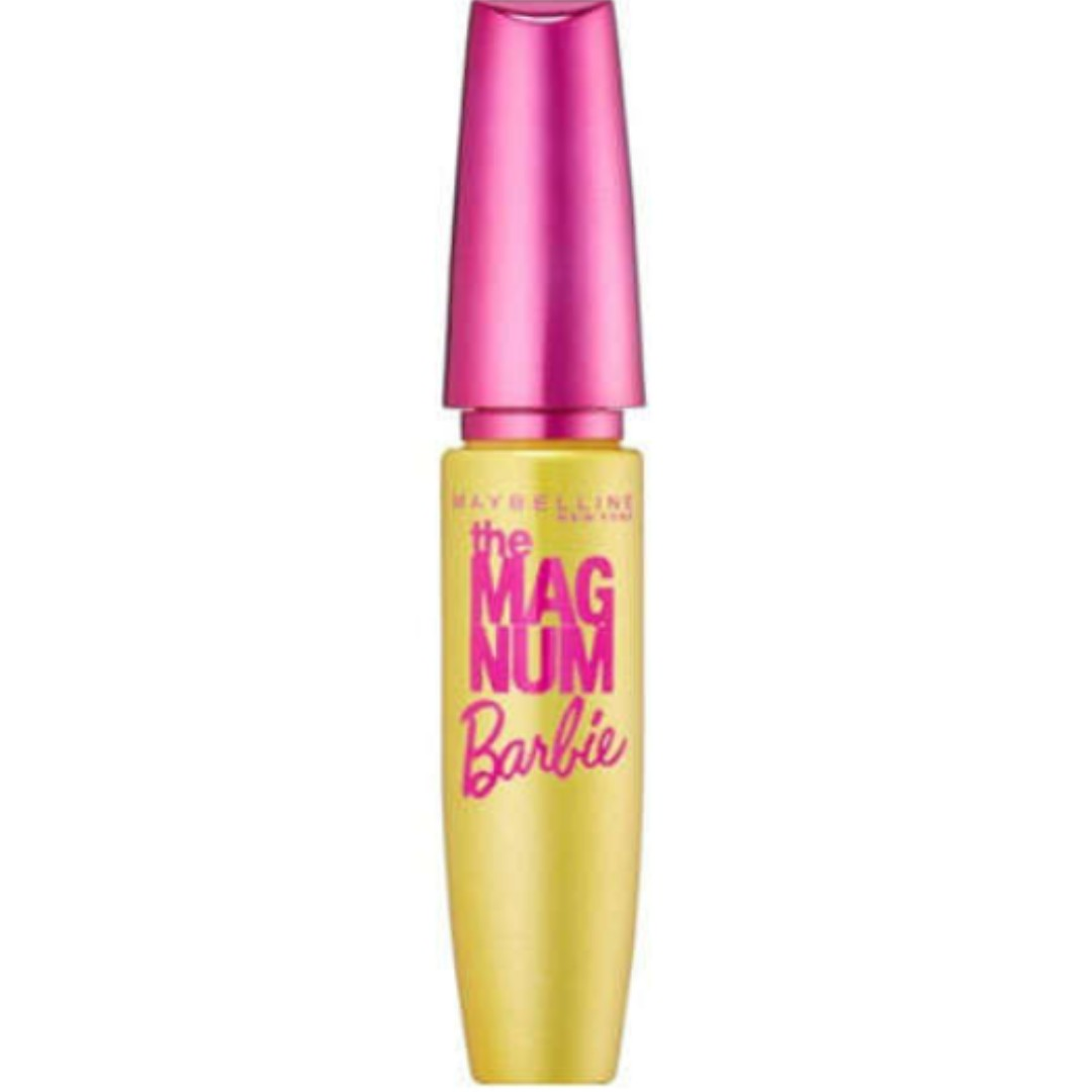 5a39d992a04 Maybelline Magnum Barbie Mascara Waterproof Black, Health & Beauty, Makeup  on Carousell