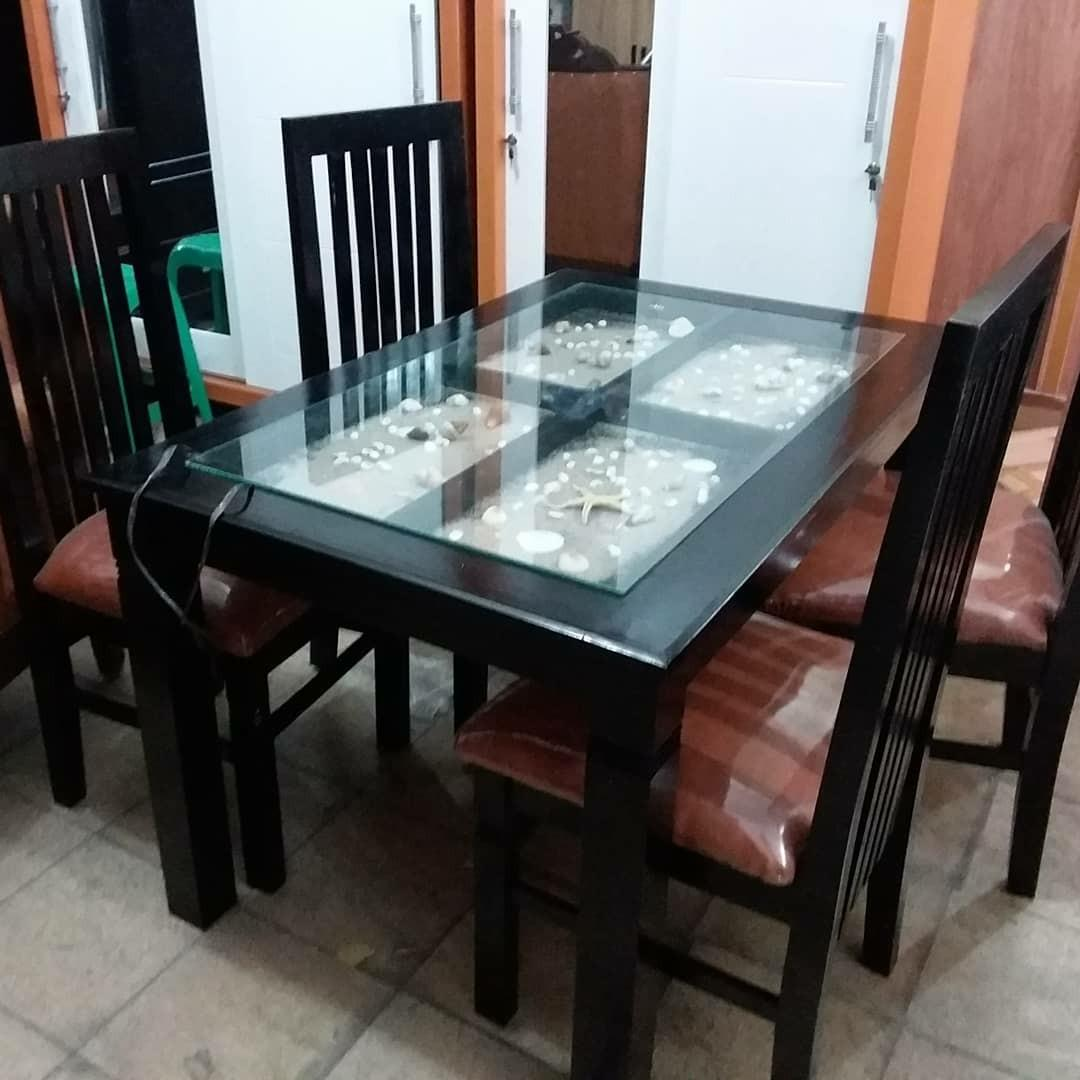 Meja Makan Minimalis Home Furniture On Carousell