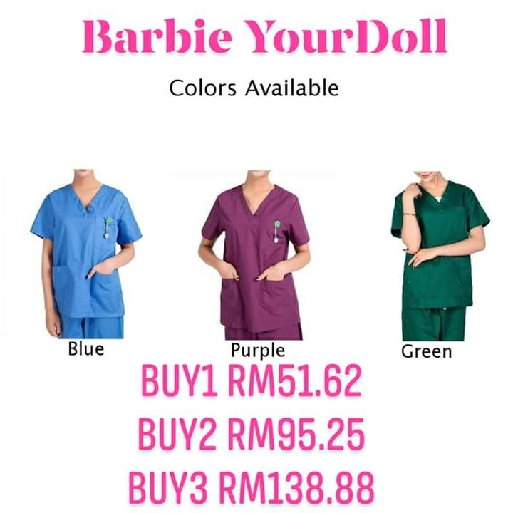 933137d3545 Men Women Medical Hospital Nursing Clinic Scrub Set Uniform Unisex Tops &  Pants, Women's Fashion, Clothes, Others on Carousell