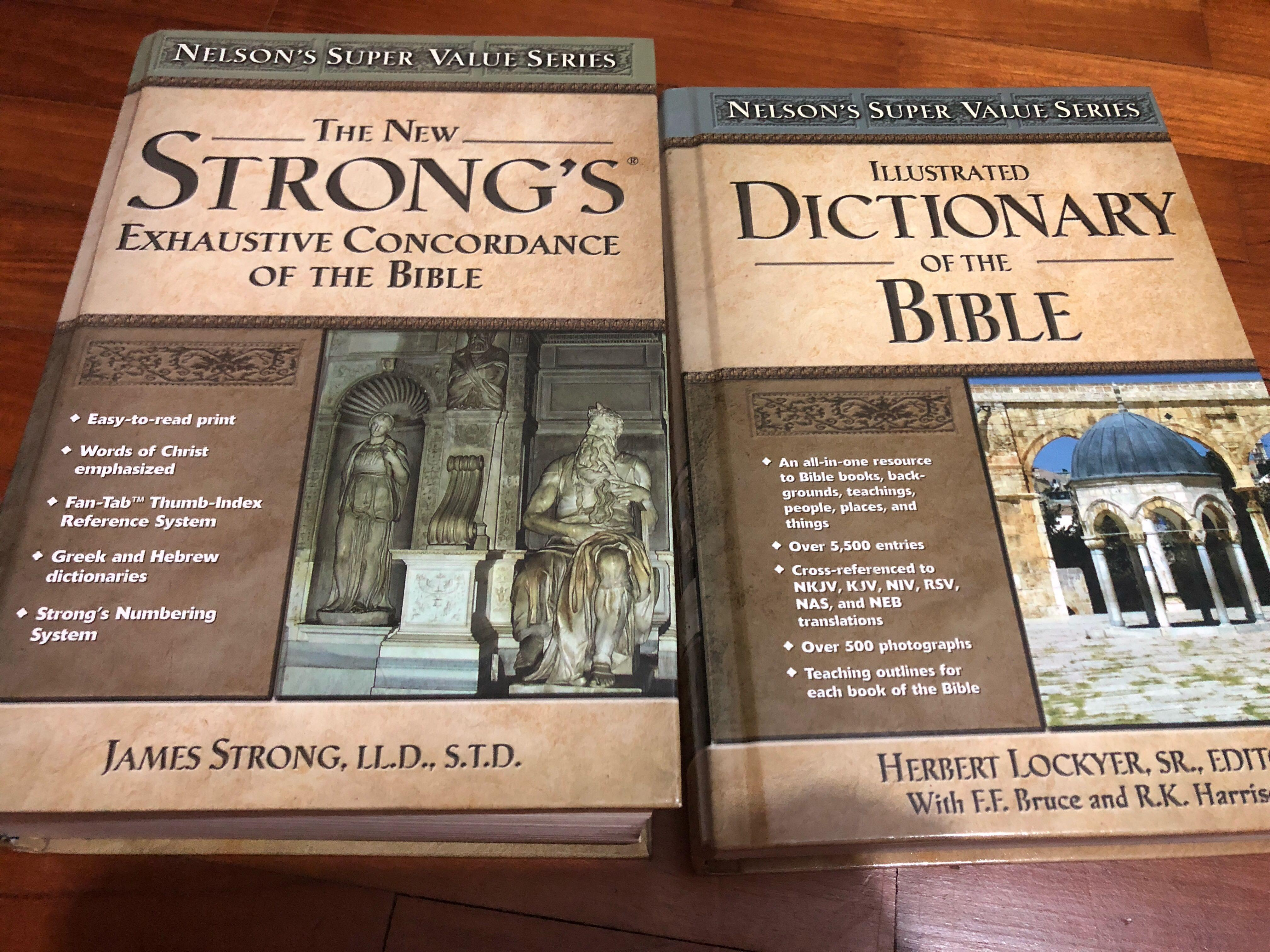 Nelson's Super Value Books- Strong's Concordance and