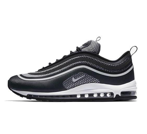 85572d17544d7 Nike Air Max 97 black bullet