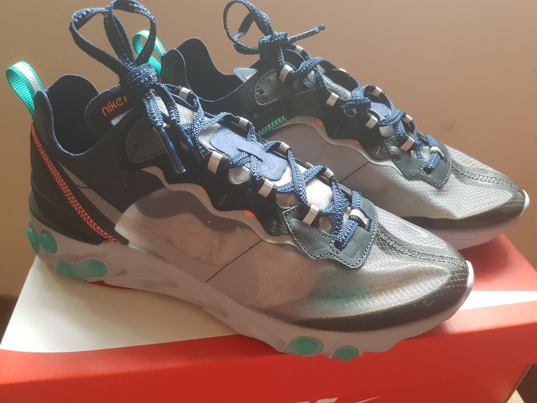 977228c8bcc4 Nike React Element 87 Neptune Green