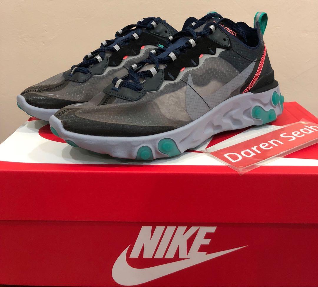 136b545a5 Nike React Neptune Green