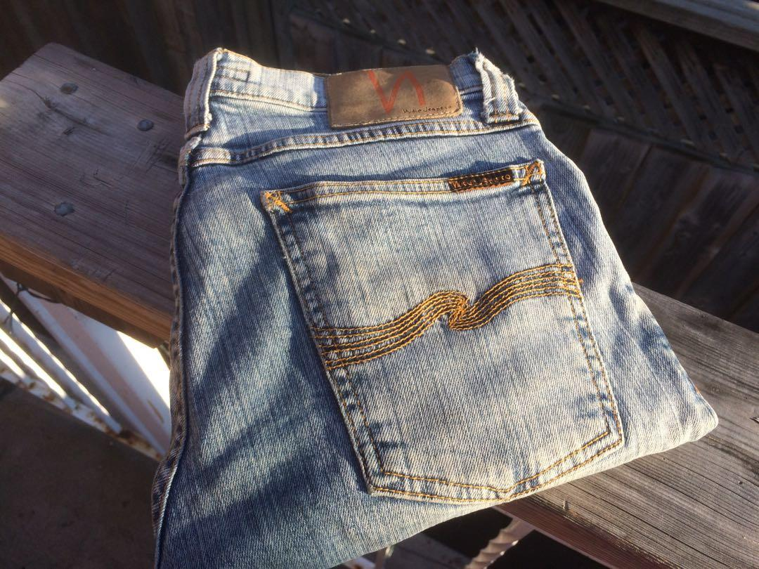 Nudie jeans tight long john size 27